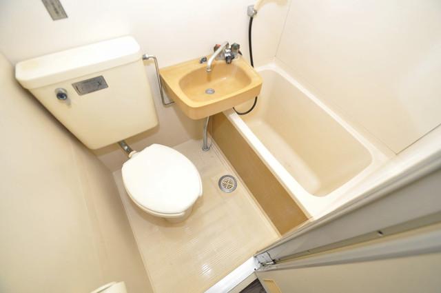 プレアール小若江 シャワー一つで水回りが掃除できて楽チンです