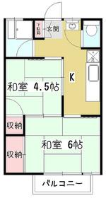 KMハウス1階Fの間取り画像