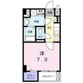 ソフトリーサンリット・ヒロ3階Fの間取り画像