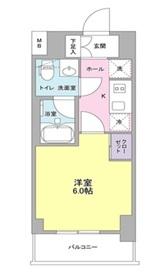 プラース千代田富士見6階Fの間取り画像