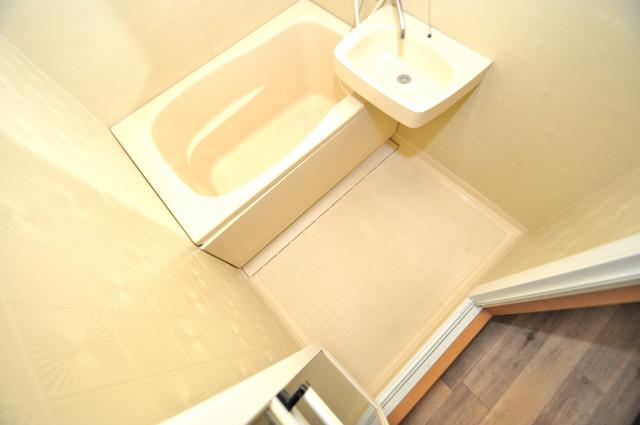 グランデコ ちょうどいいサイズのお風呂です。お掃除も楽にできますよ。