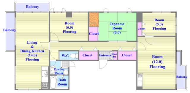 部屋数にこだわるファミリーさんはココ。