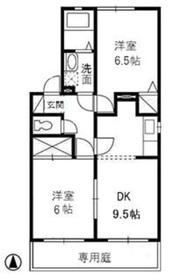 レイクスワン2階Fの間取り画像