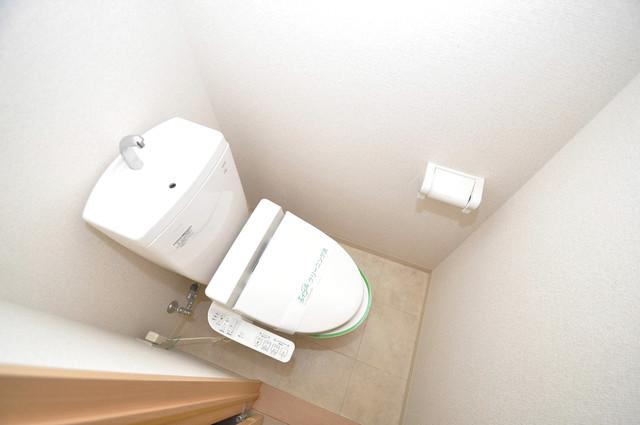 エスポワール永和 清潔感のある爽やかなトイレ。誰もがリラックスできる空間です。