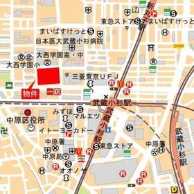 パークシティ武蔵小杉 ザガーデンタワーズイースト案内図