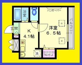 ヴィルクレールⅡ1階Fの間取り画像