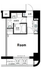グリフィン横浜・セカンドステージ6階Fの間取り画像