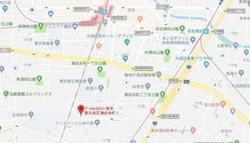 ルーブル蒲田本町案内図
