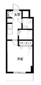 ロリエタワー川崎3階Fの間取り画像