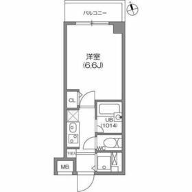 ガーラプレイス八幡山壱番館3階Fの間取り画像