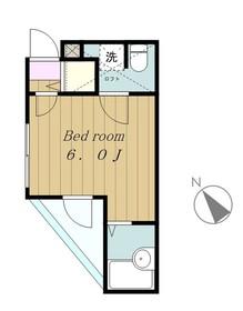ロッシェル南台第41階Fの間取り画像