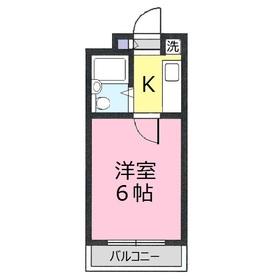 ブリランテ上福岡4階Fの間取り画像