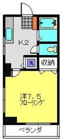 小机駅 徒歩11分2階Fの間取り画像