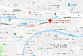 エクサム高田馬場案内図