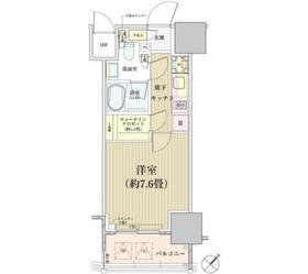 田町駅 徒歩14分10階Fの間取り画像
