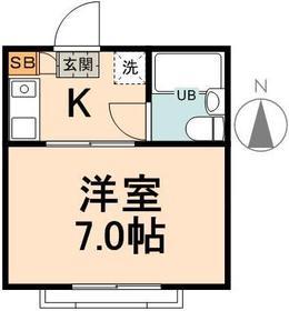 エムハウス1階Fの間取り画像