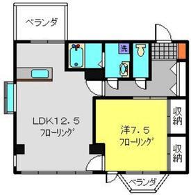 高田駅 徒歩7分4階Fの間取り画像