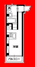 haramo cuprum7階Fの間取り画像