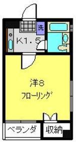 第二富岡ビル2階Fの間取り画像