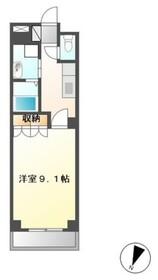 サンレジデンス湘南1階Fの間取り画像