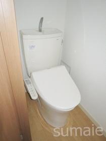 ウォシュレット付きトイレです☆