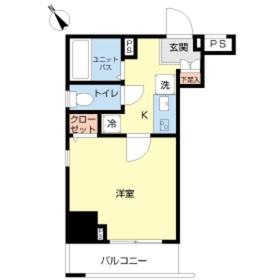 スカイコート本郷東大前弐番館6階Fの間取り画像