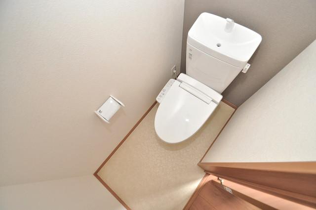 Mark Villa 巽中 キレイに清掃されたトイレは清潔感があり気分もよくなります。