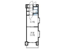 ライオンズマンション相模台第五3階Fの間取り画像