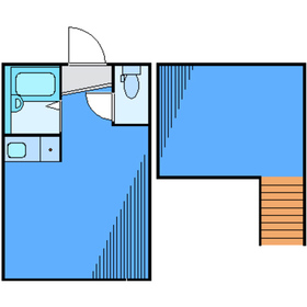 アーバンプレイス東新宿IIB2階Fの間取り画像