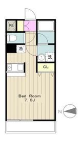 リヴィールマンションIII4階Fの間取り画像