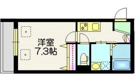 Cielo明原 シエロアケハラ1階Fの間取り画像