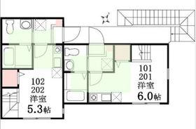 二俣川駅 徒歩4分2階Fの間取り画像