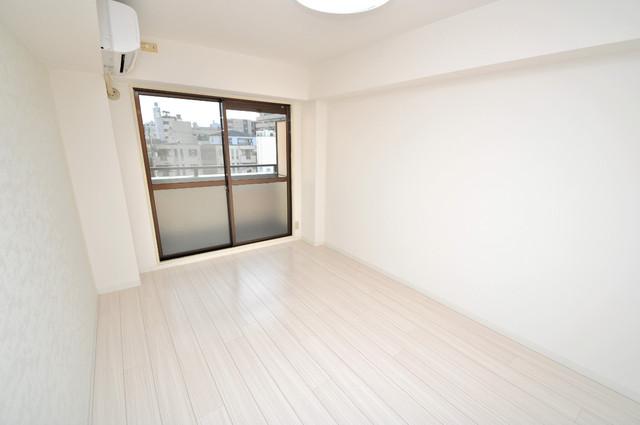 サンパレス布施 明るいお部屋はゆったりとしていて、心地よい空間です