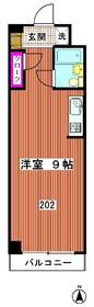 中沢ハイツ 302号室