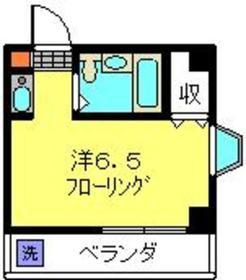 ボーテ日吉SUN1階Fの間取り画像