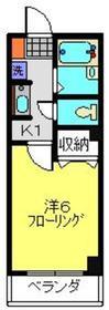 アダージョ3階Fの間取り画像