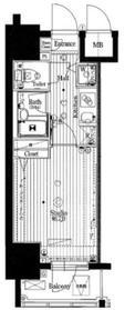 ガーラ・グランディ川崎5階Fの間取り画像