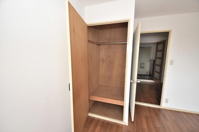 コートドールタツミ もちろん収納スペースも確保。いたれりつくせりのお部屋です。