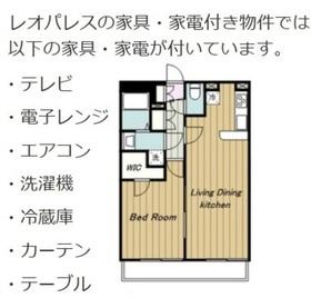 稲城長沼駅 徒歩10分3階Fの間取り画像