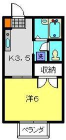 コート・ドゥ・ベール弐番館1階Fの間取り画像