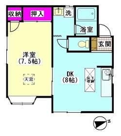 ハイムシバタ�U 101号室