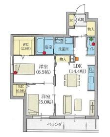 ヘーベルVillage和光市 ラファータ3階Fの間取り画像