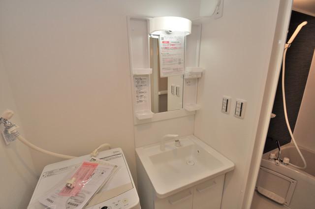 グランエクラ田島 人気の独立洗面所はゆったりと余裕のある広さです。