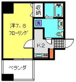 モンセラート横浜関内4階Fの間取り画像