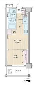 三ッ沢上町駅 徒歩5分3階Fの間取り画像