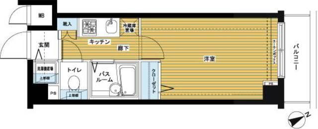 日本橋駅 徒歩5分間取図
