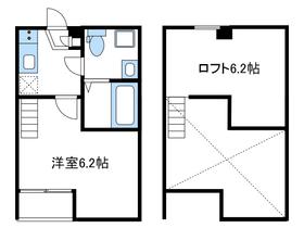 プラム相武台1階Fの間取り画像