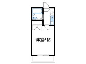 小田急相模原第21レジデンス1階Fの間取り画像