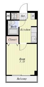 クレセジュール 402号室