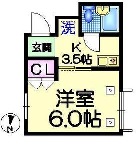 メゾン1162階Fの間取り画像